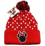 Minnie Mouse Pomp Beanie