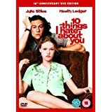 10 Things I hate about you 10th Anniv SE [DVD]by Julia Stiles