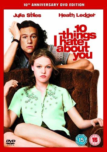 10 razones para odiarte dvd: