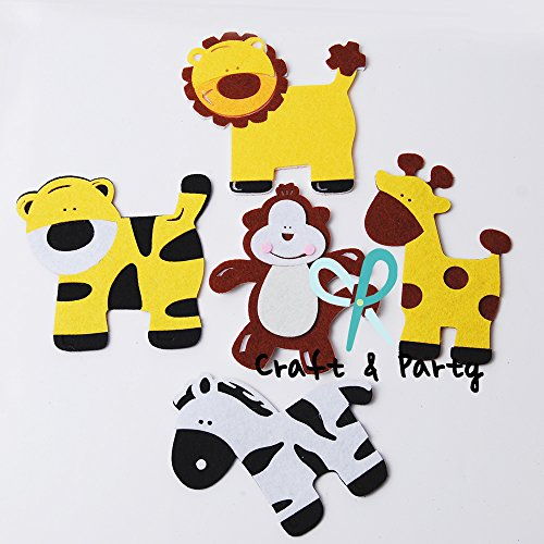 Animal Baby Shower Favors front-1037265