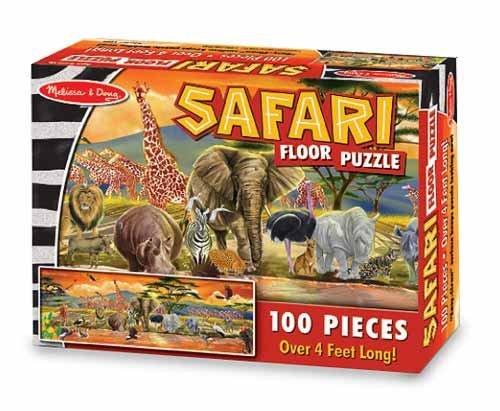 Cheap Melissa & Doug 100 Piece Safari Floor Puzzleby Melissa and Doug (B003BM3DGW)