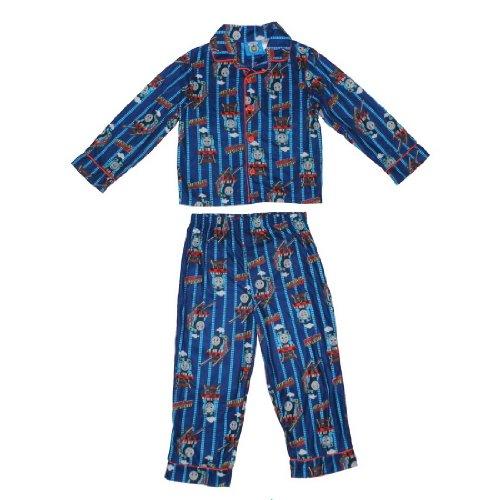 2 PCS SET: Boys Or Girls Thomas & Friends Fleece Sleepwear Pajama Top & Pants Set