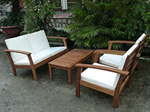 New Enjoy the many products in this holiday One more option for shopping pc Sopha Outdoor Patio Seating Sofa Set Furniture By Azzurro Living