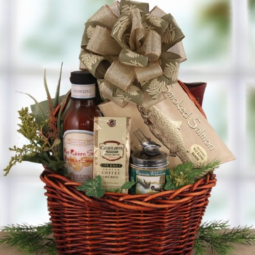 Father'S Masculine Munchies Gourmet Gift Basket