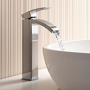 Live SuSu Bathroom Taps - Chrome Counter Top Basin Mixer Tap