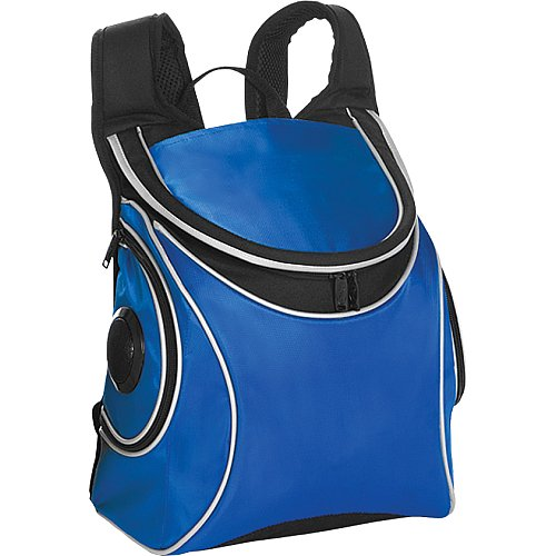 Picnic Plus Cooladio Cooler with Built-in Speakers, Royal