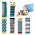 Lydreewam 6-pack Baby & Toddler Cozy Soft Leg Warmers, Kneepads, Gift Set for Boys & Girls