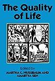 The Quality of Life (WIDER Studies in Development Economics)