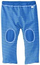 i play. Baby Organic Yoga Pants, Royal Blue Stripe, 24 Months