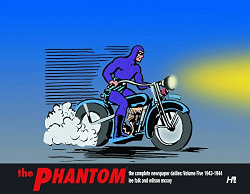 The Phantom The Complete Newspaper Dailies:  Volume 5 1943-1944