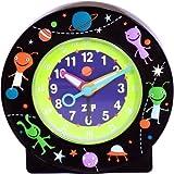 Baby Watch (ベビーウォッチ) 置き時計 サイレントクロック 宇宙人 AC010 martiens キッズ目覚まし [正規輸入品]
