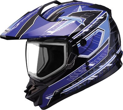 Gmax GM11D Dual Sport Snow Helmet Nova Graphic Blue aftermarket airless spray pump 249122 for graco paint sprayer gmax ii 7900