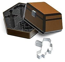 Thinkgeek Minecraft Cookie Cutters