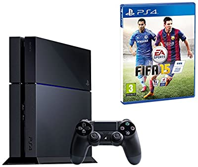 Sony PS4 Console with FIFA 15 (PS4) by Sony