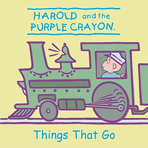 Harold and the Purple Crayon: Things That Go (Harold & the Purple Crayon) (Harold Purple Crayon Board Book compare prices)