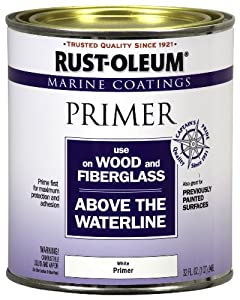 Rust-Oleum 207014 Marine Wood and Fiberglass Primer 1-Quart