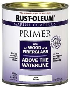 Rust-Oleum 207014 Marine Wood and Fiberglass Primer 1-Quart