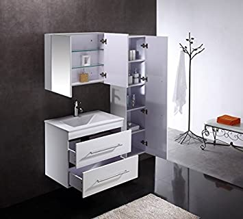 badm bel mega spar set infinity 750 weiss hochglanz db563. Black Bedroom Furniture Sets. Home Design Ideas