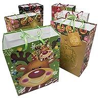 "Large 9"" Christmas Gift Bags (12 Pac…"