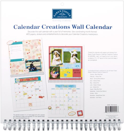 Wall Calendar For 12
