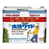 ニッペ 多用途塗料 水性フレッシュワイド ホワイト(しろ) 7L