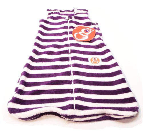 Gunamuna Gunapod Wearable Blanket Party Collection, Purple/Cocoon, Small front-356632
