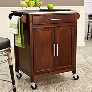 Amazon Com Belham Living Mid Size Kitchen Island With