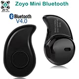 #7: Zoyo Mini Style Wireless Bluetooth Headphone Black S530 1Pcs In-Ear V4.0 Stealth Earphone Phone Headset Handfree Compatible with Samsung, Motorola, Sony, Oneplus, HTC, Lenovo, Nokia, Asus, Lg, Coolpad, Xiaomi, Micromax and All Android Mobiles Bluetooth Headset.