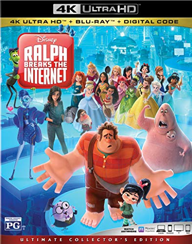 4K Blu-ray : Ralph Breaks The Internet (2 Discos)