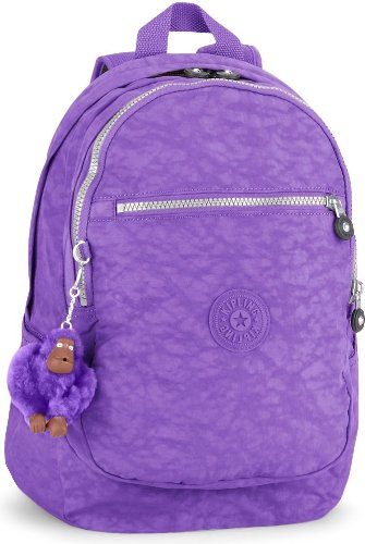 B00GZZN0LA Kipling Women's Clas Challenger Backpack One Size Vivid Purple