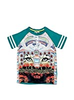 Fracomina Mini Camiseta Manga Corta (Multicolor)