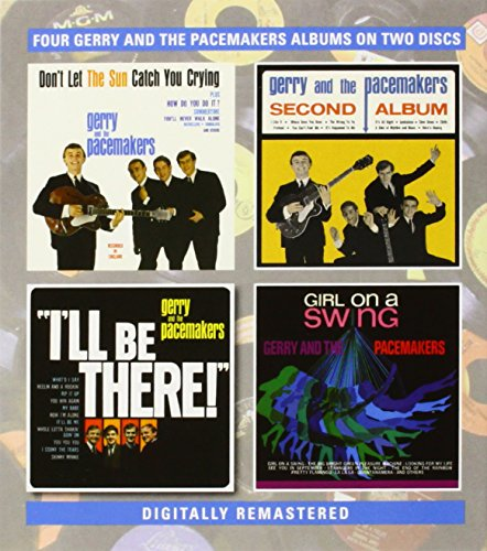 Gerry & The Pacemakers - Gerry & The Pacemakers   -  YouLl Never Walk Alone/Second Album/ILl Be There/Girl On A Swing - Zortam Music