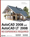 img - for AutoCAD 2008 and AutoCAD LT 2008: No Experience Required book / textbook / text book
