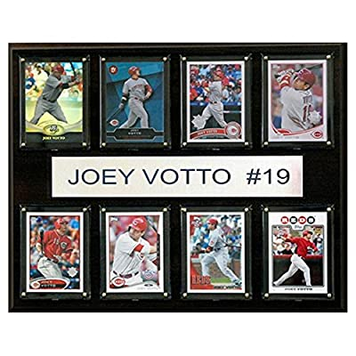 C and I Collectables MLB 15W x 12H in. Joey Votto Cincinnati Reds 8 Card Plaque