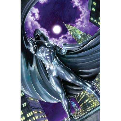 """.com: Vengeance of Moon Knight BY Alex Ross Poster (Size 24"""" X 36"""