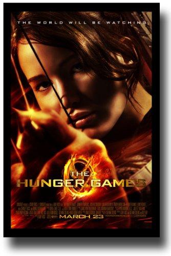 Hunger Games Poster - Promo Flyer 2012 Movie - 11 X 17 - Jennifer Lawrence - FireBow Margin