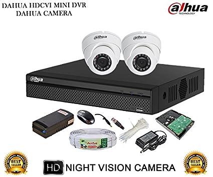 Dahua-DH-HCVR4104HS-S2-4CH-Dvr,-2(DH-HAC-HDW1000RP)-Dome-Cameras-(With-Accessories,-1TB-HDD)