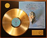 """The Eagles """"Their Greatest"""" 24Kt Gold LP Record LTD Edition Display"""