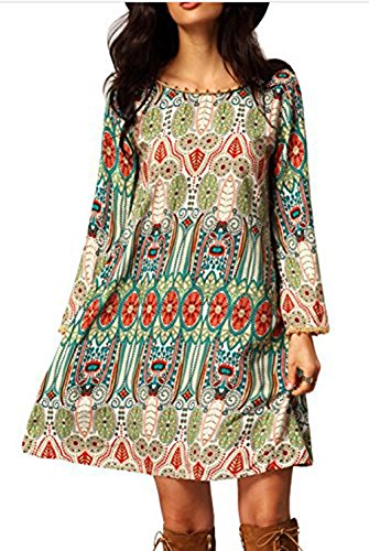 relipop-womens-3-4-sleeve-ethnic-style-bohemian-printed-mini-floral-tunic-dress-x-large-type-10