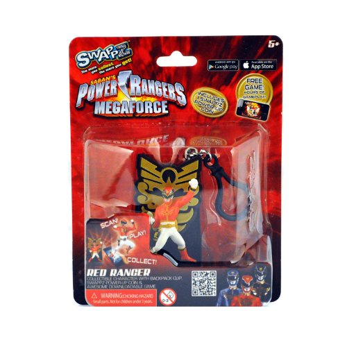 Swappz Power Rangers Mega Force Red Ranger