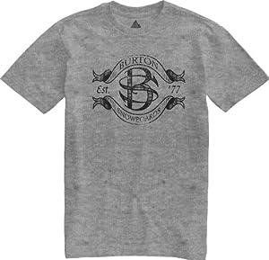 Burton Herren T-Shirt Camp Shortsleeve, Heather Grey, 56/58, 11277100076