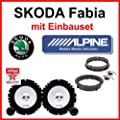 Skoda Fabia Lautsprecher Alpine mit Einbauset von Alpine - Reifen Onlineshop