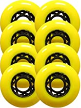 FITNESS ROLLERBLADE WHEELS Skate 76mm 80a 8-PACK