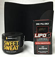 Nutrex DMAA FREE Fat Burn and Weight Loss Combo. Includes Sweet Sweat Jar, AWT Premium Quality…
