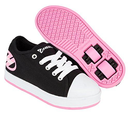 Heelys Fresh Schwarz/Rosa Kids HX2 Heely Schuhe -38