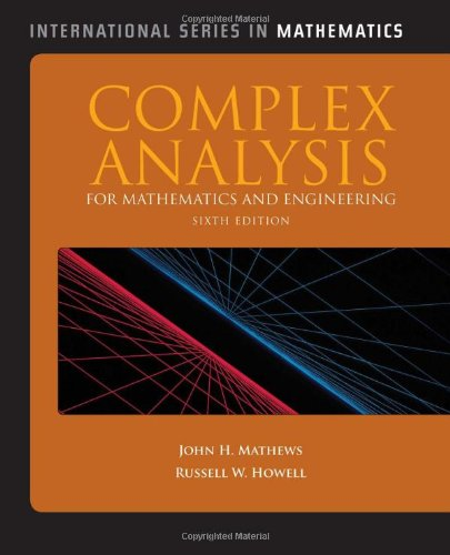 Complex Analysis For Mathematics And Engineering...