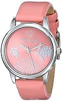 Tommy Bahama Swiss Women's TB2165 Bimini Reed Analog Display Japanese Quartz Pink Watch by Tommy Bahama Swiss