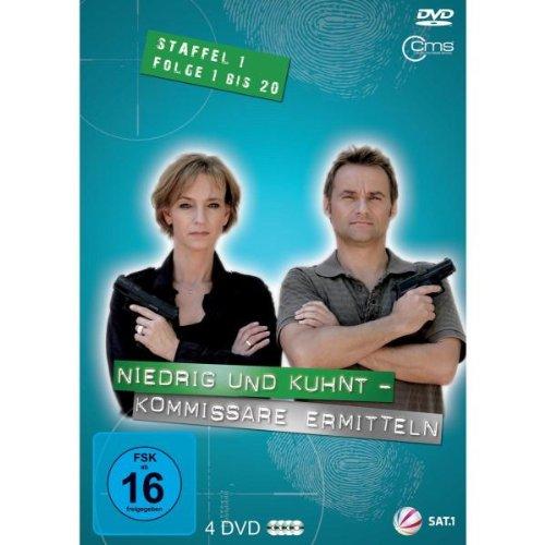 Niedrig & Kuhnt - Kommissare ermitteln (Staffel 1, Folge 1 bis 20) [4DVDs] hier kaufen