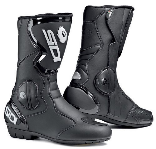 SIDI Black Rain Waterproof Motorcycle Boots (41)