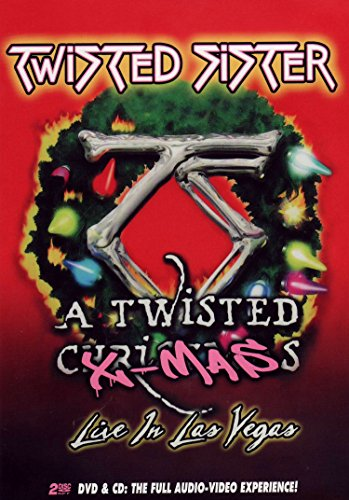 Twisted Sister - A Twisted Christmas: Live in Las Vegas (+CD)